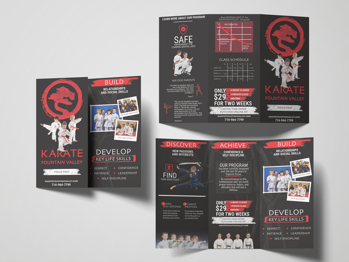 Fountain Valley Karate Brochure